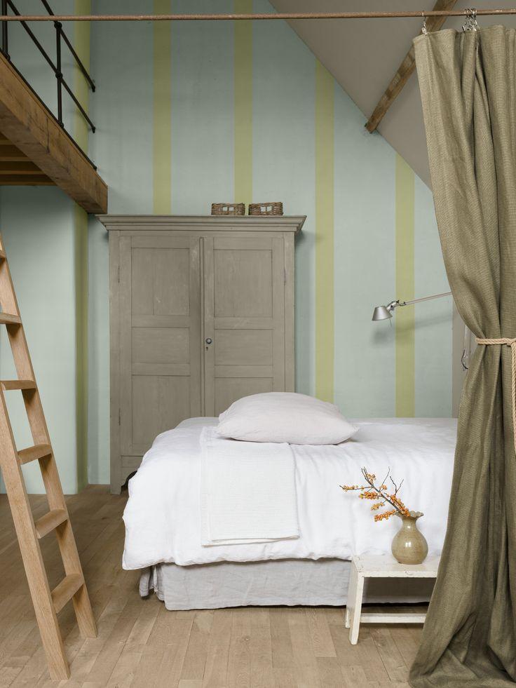 Levis Ambiance #WatMijnMurenVertellen - #CeQueMesMursDisent Ambiance Mur Extra Mat: Eucalyptus - Basalt/Basalte - Olijf/Olive