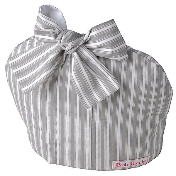 Grey Stripe Tea Cosy