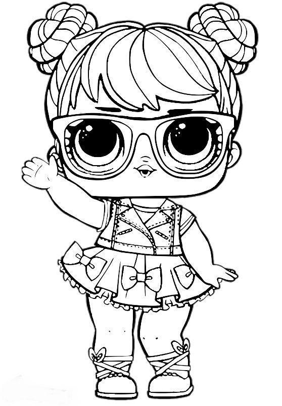 Dolls are so cute and make great coloring pages. Dibujos para Colorear: Muñecas LOL   Dibujos para colorear