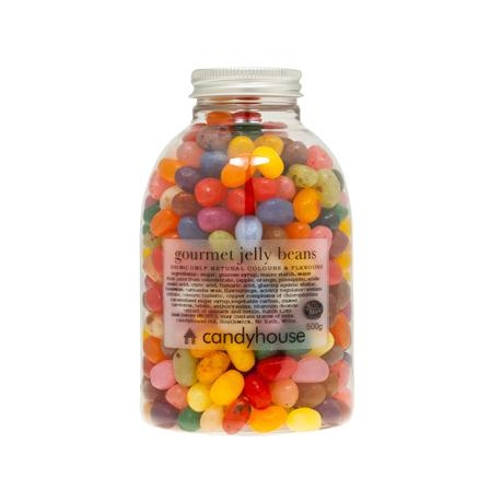 Candyhouse Gourmet Jelly Beans in Jar, 500g