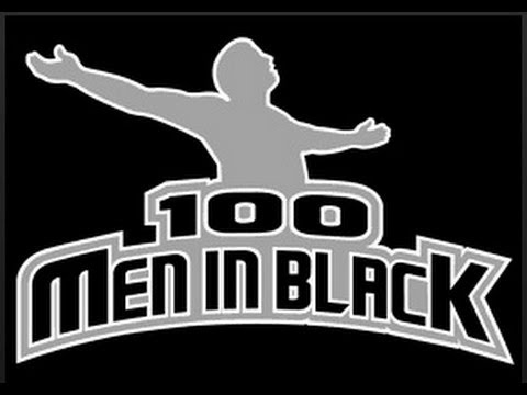 "100MenInBlack Rehearsal ""Swing Low, Sweet Chariot"" First Run Through"