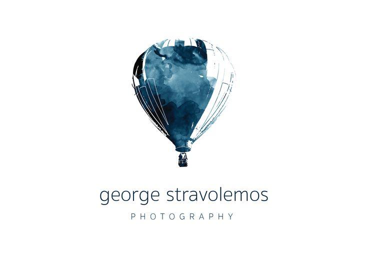 Photographer logo design - Hot air balloon
