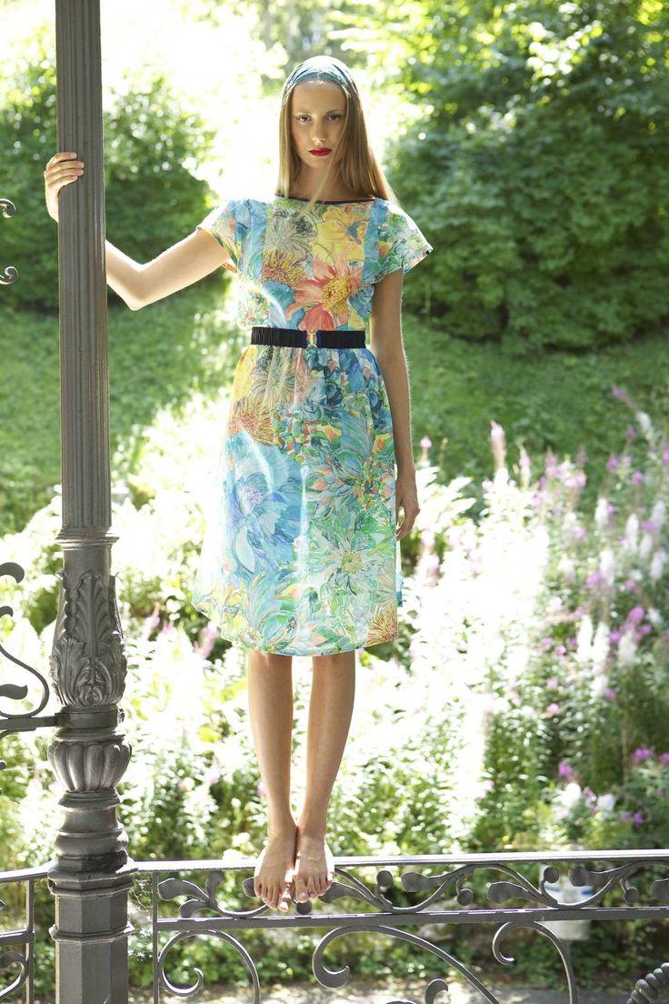 Kate Bunce / robe coton Liberty