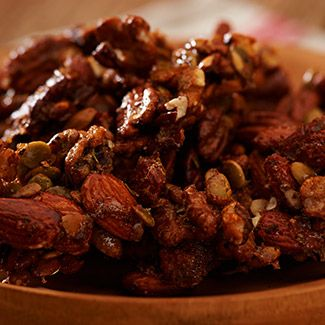 Sweet & Savory Nut Clusters