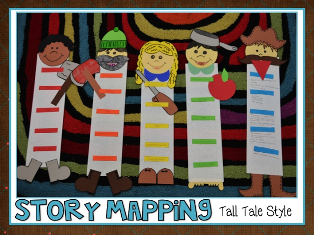 Tall Tales Story Mapping & Literature Circles!
