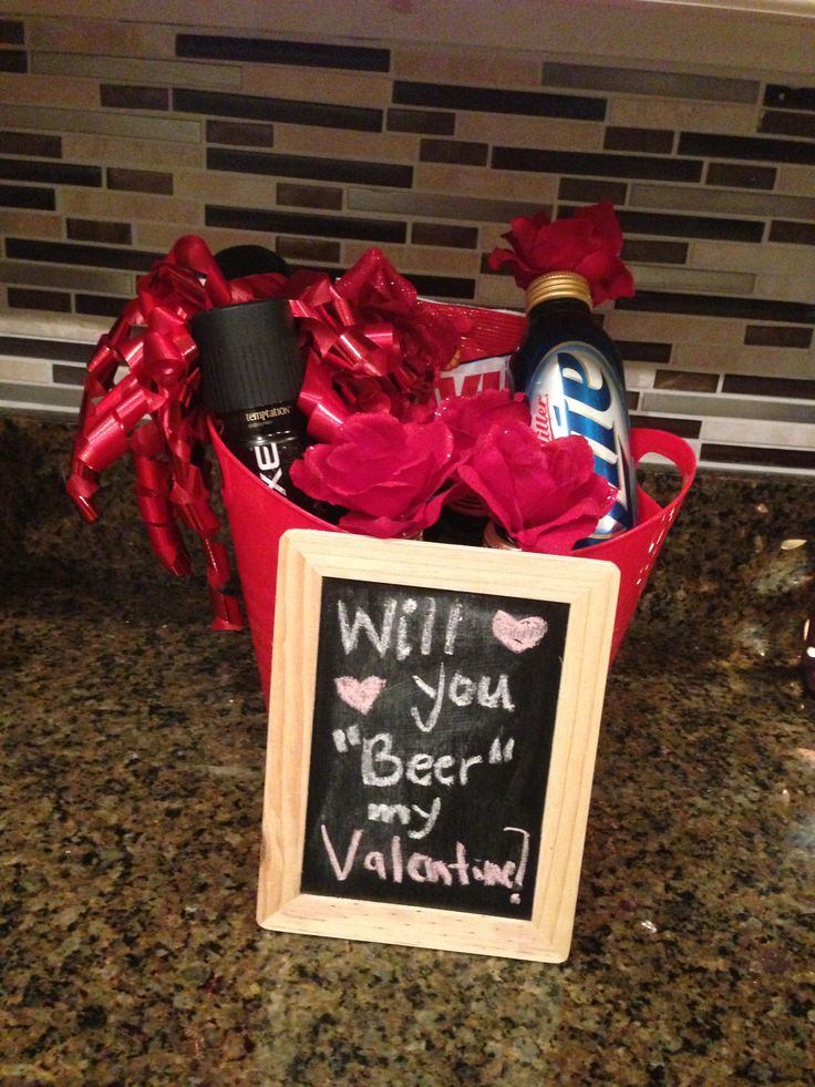 Quick and easy DIY valentine gift for any Beer lover! Via ...