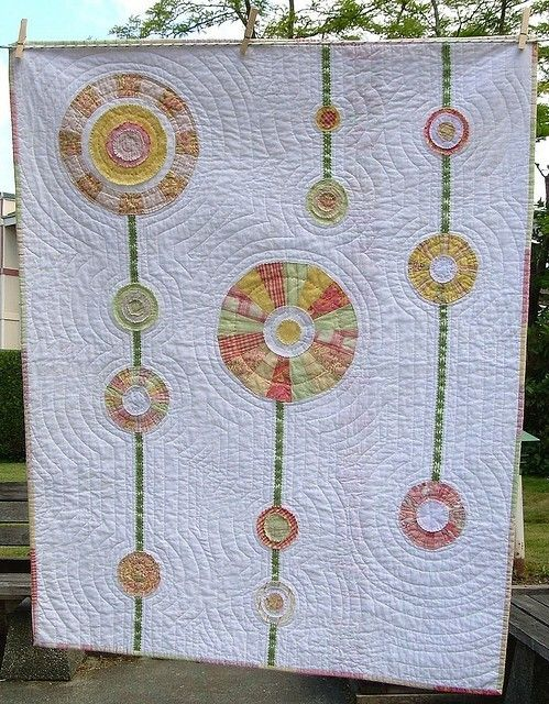 Dandelion quilt by kaitlin
