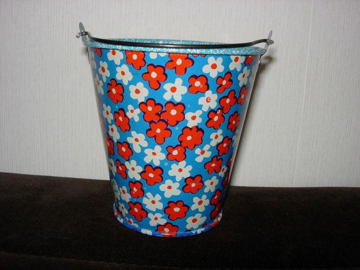 Детское ведро в цветочек. Советские игрушки - http://samoe-vazhnoe.blogspot.ru/