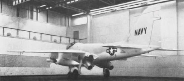 The A-6 Intruder Was Originally Designed With Thrust Vectoring  The A-6 Intruder Was Originally Designed With Thrust Vectoring As with so many military aircraft designs, the A-6 Intruder, known originally as the YA2F-1, had…