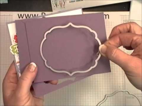 Turning die cuts into embossing. Genius!