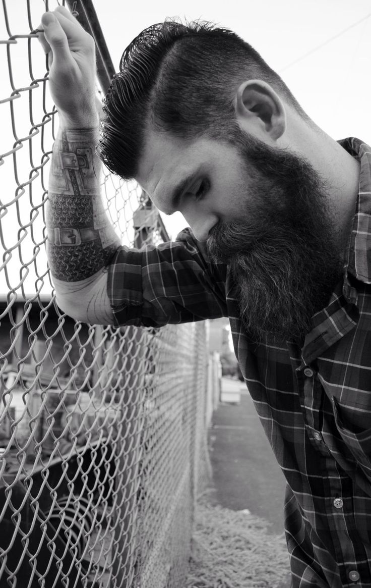 best every woman loves a man w a beard images on pinterest