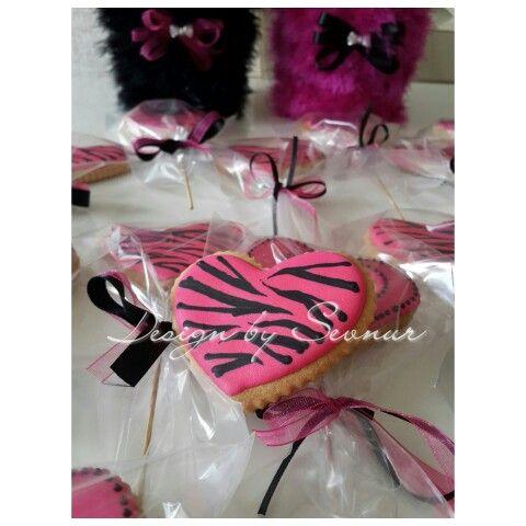 Zebra desen kurabiye...
