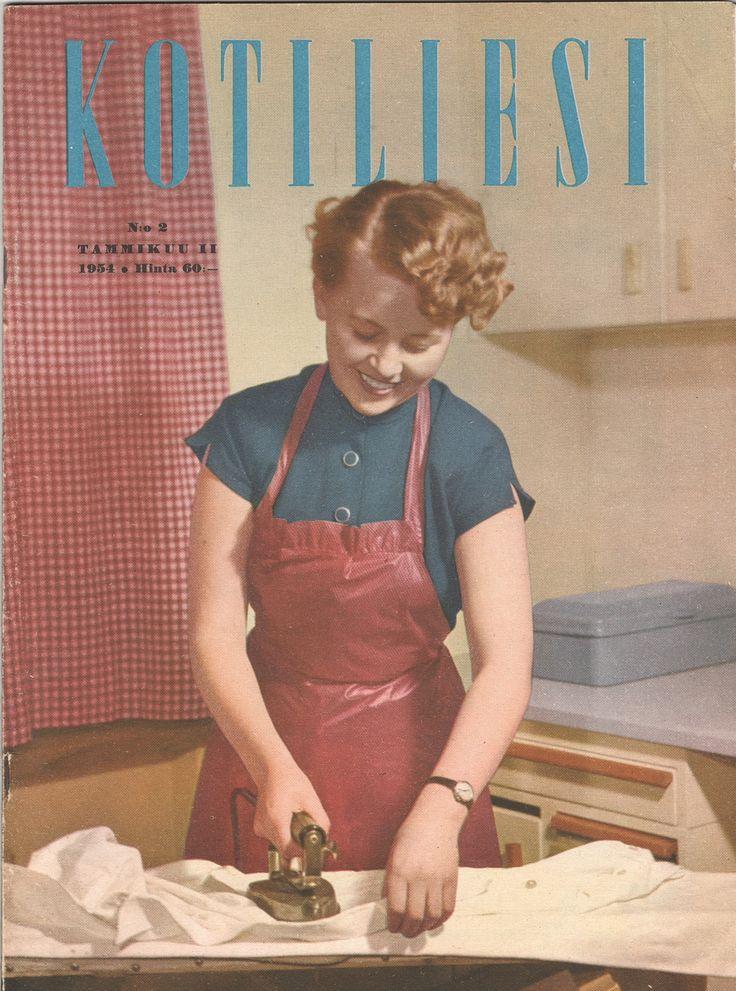 Kotiliesi Magazine cover, 1954.