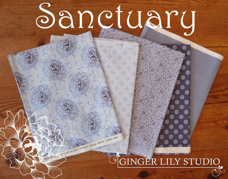 Sanctuary Collection Colourway 03 by Ginger Lily Studio