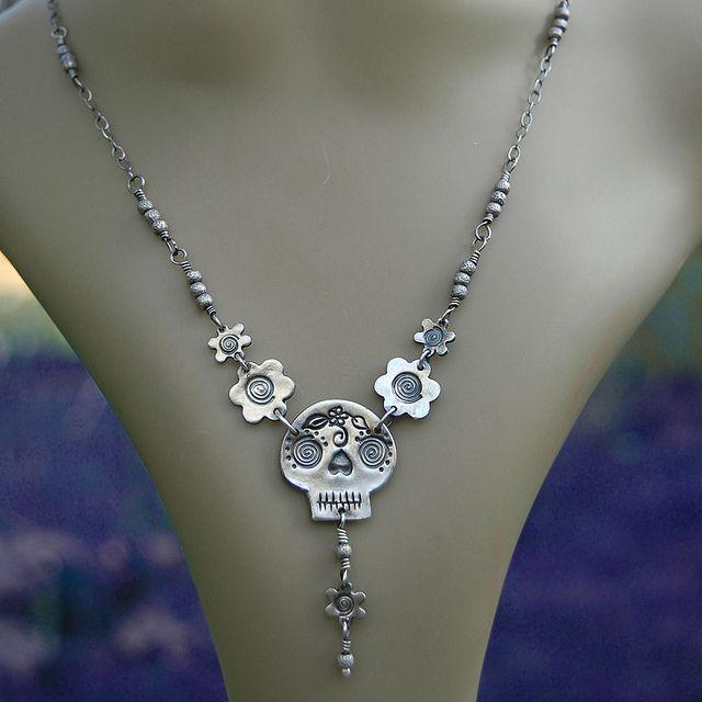 Silver Sugar Skull 1 - model | Flickr - Photo Sharing!
