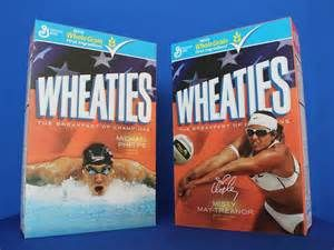 Wheaties' cereal box covers - Bing images