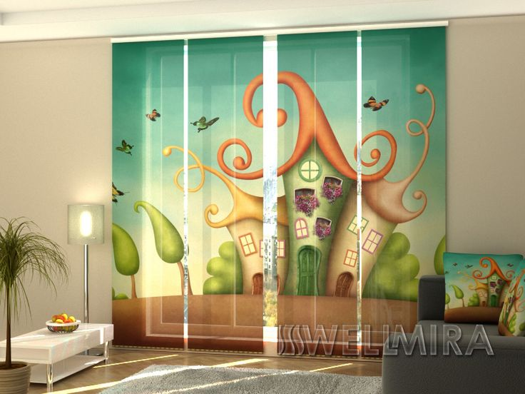 Set of 4 Panel Curtains Three Little Houses #Wellmira #ModernCurtains #PanelCurtains #Curtains #JapaneseCurtains #Fotogardine #Schiebevorhang #Flächenvorhang #Schiebegardine #Little #House  https://wellmira.com/collections/sets-of-4-panel-curtains/products/set-of-4-panel-curtains-three-little-houses?variant=25690606663