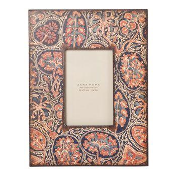 Esta semana - Novedades -  España. Multicolored frame. Zara Home.