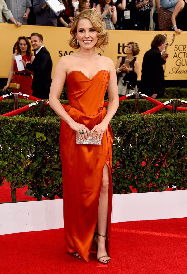 The 21st Annual Screen Actors Guild Awards Best Dressed Sophia Bush  More on www.boassy.com