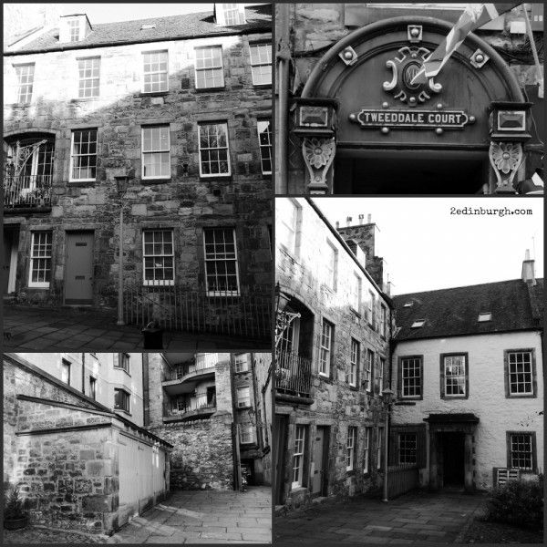 Where is Carfax Close? Come Outlander Exploring around the Royal Mile Edinburgh. Diana Gabaldon's Voyager