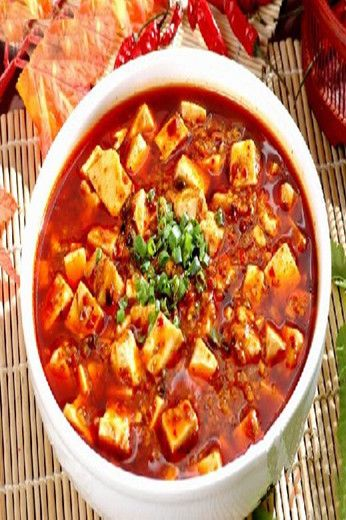 Halal Chinese Food - Ma po tofu , one of the most famous dishes in Chuan Cuisine with a history of more than 100 years.Enjoy Halal food,halal meat in  Chinese Halal Restaurants with muslimtourtravel.com in China.