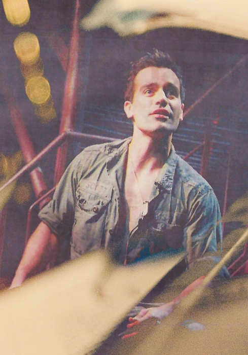 Ramin Karimloo as Chris in Miss Saigon. I didn't know he had played this part! That's so awesome! He and Lea Salonga in that together - THAT would be perfect.