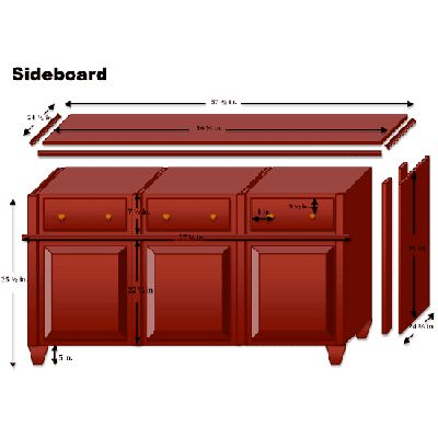 Illustration Jennifer Stimpson | thisoldhouse.com | from How to Build a Sideboard from Stock Cabinets
