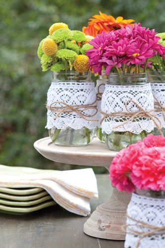 3 Simple Summer Centerpieces