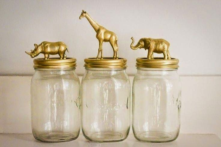 Organize sem Frescuras | Rafaela Oliveira » Arquivos » Reutilize potes de vidro para organizar, decorar e encantar!                                                                                                                                                                                 Mais