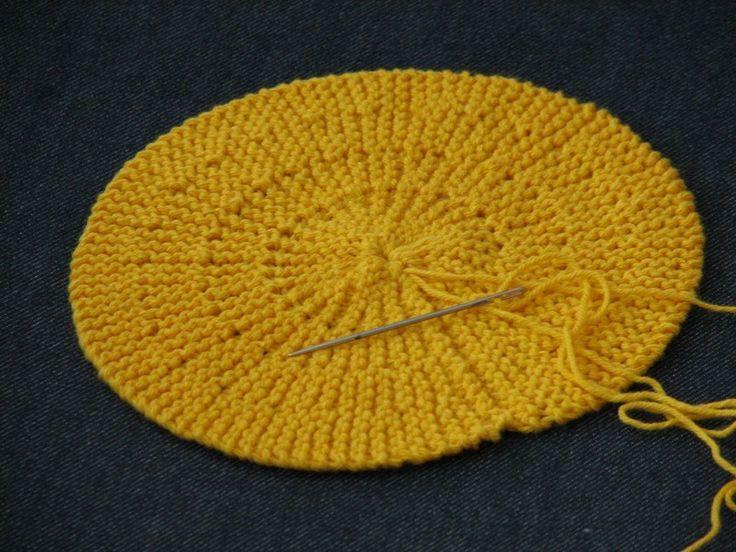 tricoter un disque