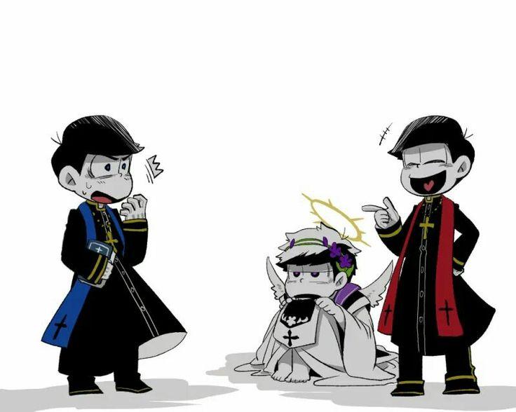 Karamatsu, Ichimatsu & Osomatsu