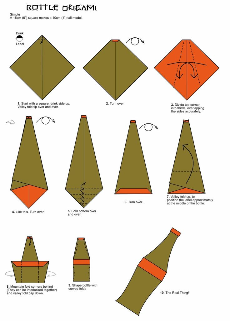 21 Best Origami Food Images On Pinterest Oragami Origami Diagrams