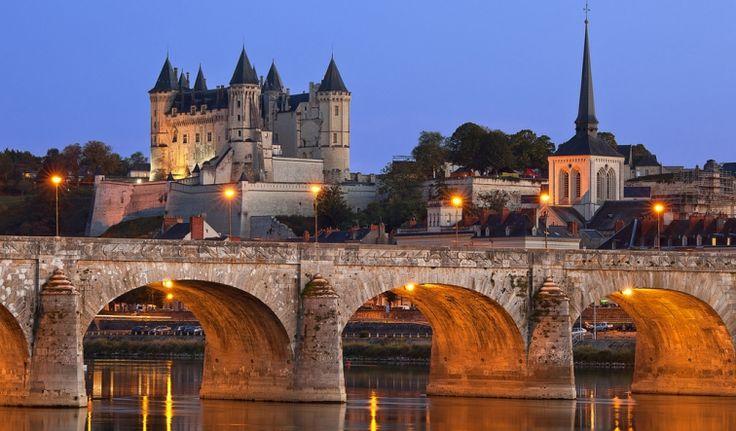 Fransa-Saumur Kalesi