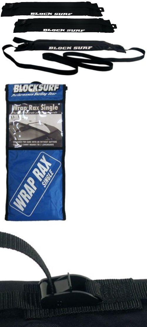 Car Racks 114254: Block Surf Single Wrap Surfboard Rack -> BUY IT NOW ONLY: $47.92 on eBay!