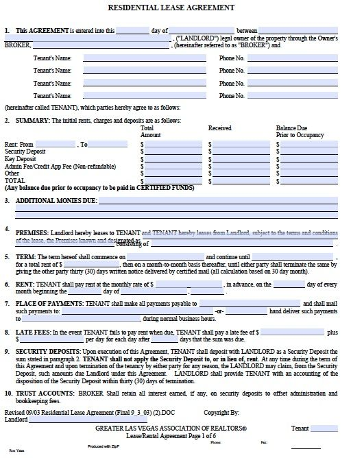 bc rental lease agreement pdf