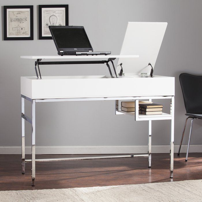 Beautiful And Ergonomic Home Office With Small Storage: 25+ Best Standing Desk Height Ideas On Pinterest