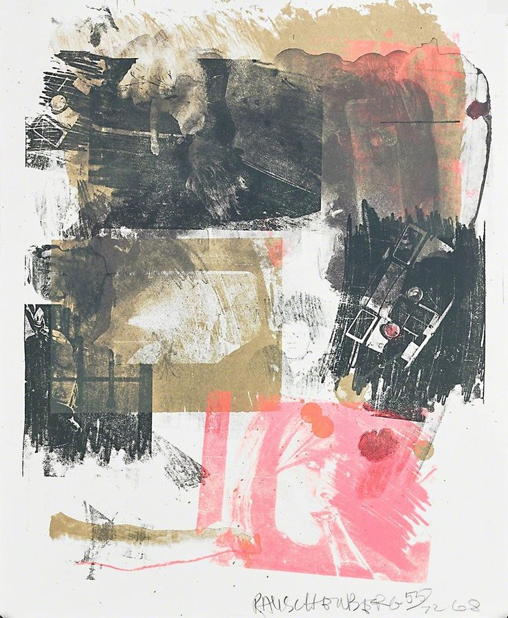 Robert Rauschenberg, 'Storyline III,' 1968, Rago Auctions: Makers Collect