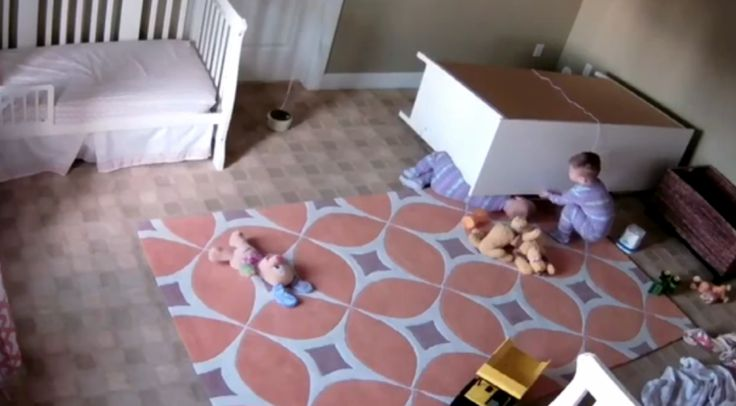 Watch this toddler miraculously save his twin brother trapped under fallen dresser [VIDEO]