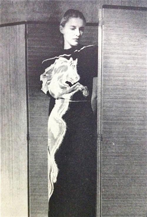 "Socialite ""Slim"" Hawks, 1940s."