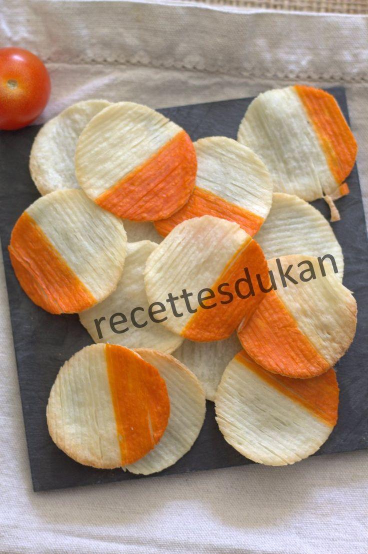 DUKAN : Chips de surimi - Attaque, PP, PL, Conso, Lundi Escalier Nutritionnel