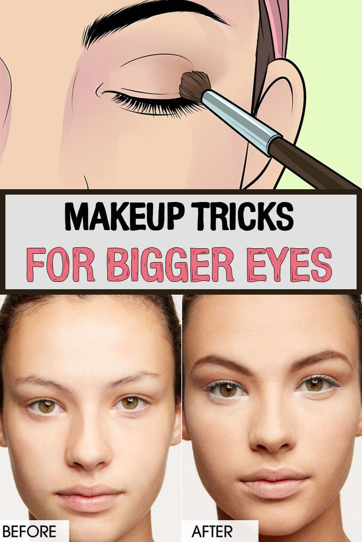 how to put eyeliner to make eyes bigger