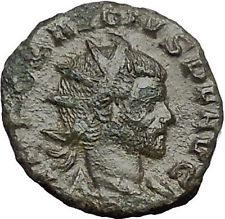 Claudius II Gothicus 268AD Ancient Roman Coin Ares Mars War God Cult i54910