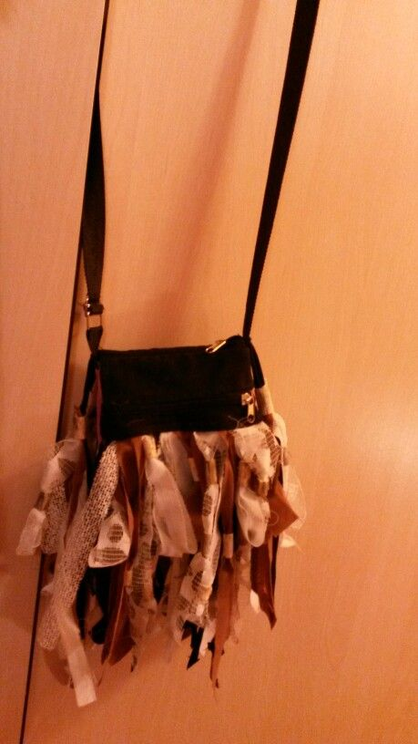 DIY RECY-kabelka s krajkou