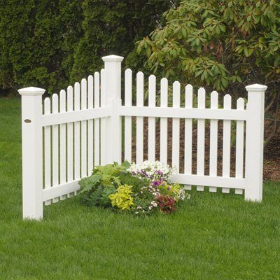 How to use decorative fencing for landscaping ourblog for Decorative fences for backyards