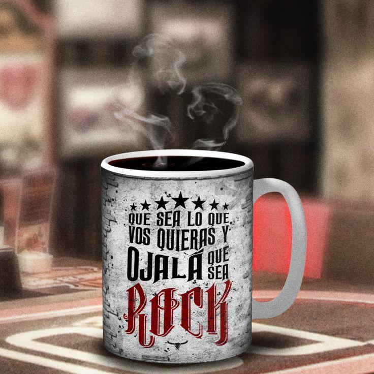 Nada mal para empezar un buen día... #TazaRockera #Rockstar #Mug #Rock #Coffee #Feliz #Happyday #positivelife #andrewstoro