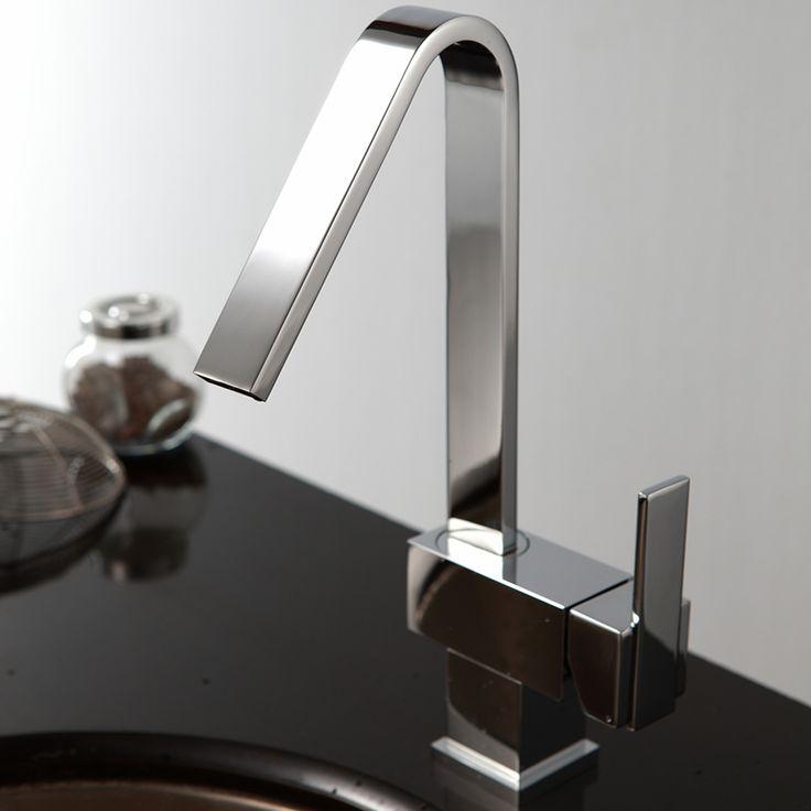 Unique Designer Sinks sink faucet design these avant designer sink garde bore designs by burgbad will transform your Enki Contemporary Designer Kitchen Sink Mixer Tap Monobloc Solid