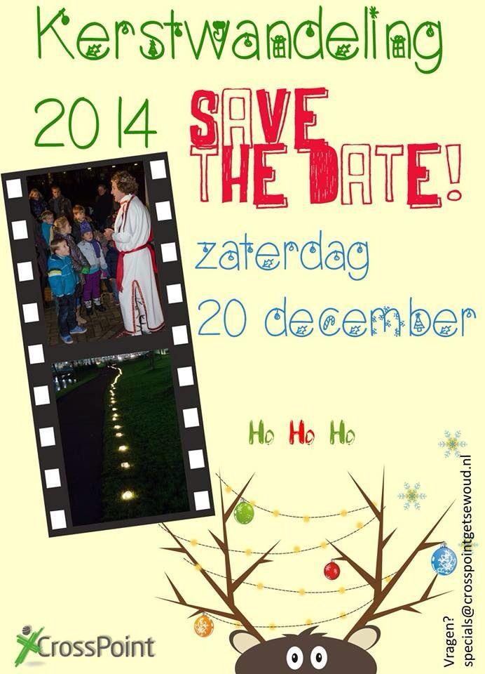 Save the date #kerstwandeling2014