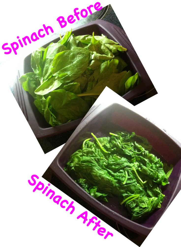 You can have even healthier spinach by using an Epicure steamer. No oil or water required!