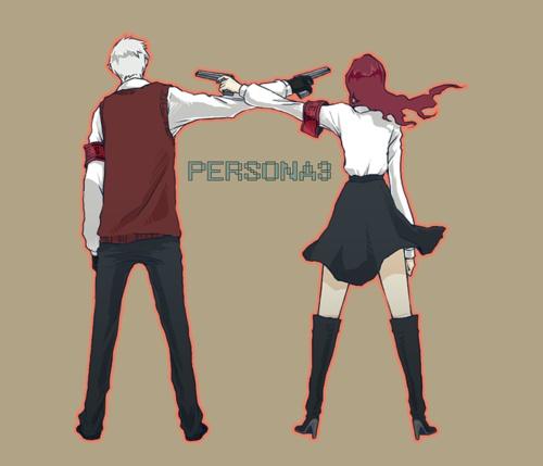 Persona 3 - Akihiko and Mitsuru