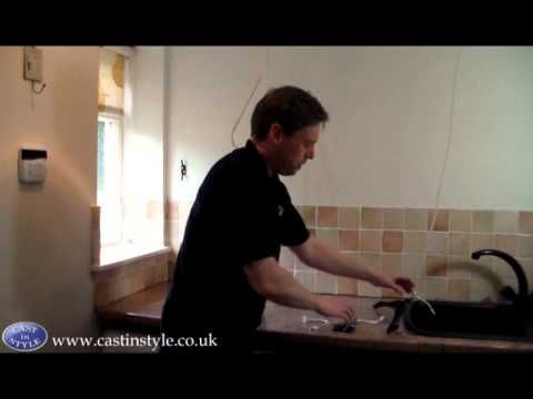 How to install a Pulley Clothes Airer - Cast in Style Kitchen Maid